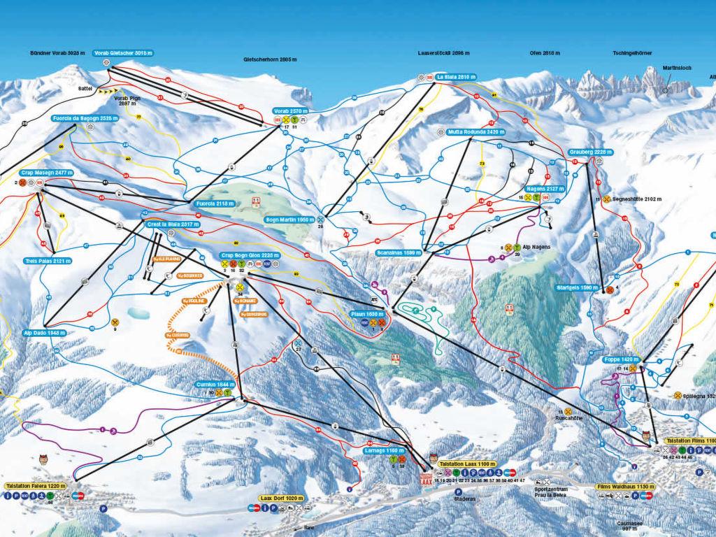 Ferienwohnung BergSicht (LAA300) (113986), Laax, Flims - Laax - Falera, Graubünden, Schweiz, Bild 9