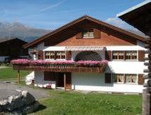 Obersaxen Meierhof - Ferienwohnung Ferienwohnung Alpakahof Riedi 1 Zarzana
