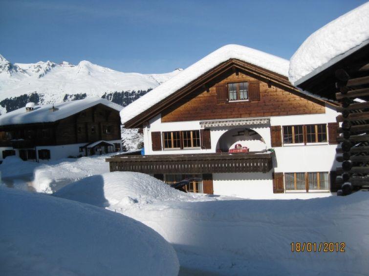 Ferieleilighet Ferienwohnung Alpakahof Riedi 1 Zarzana for fjellvandring og aking