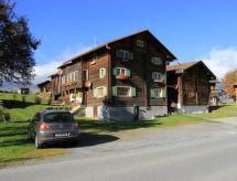 Obersaxen Meierhof - Apartment Ferienhaus Schwarz Affeier