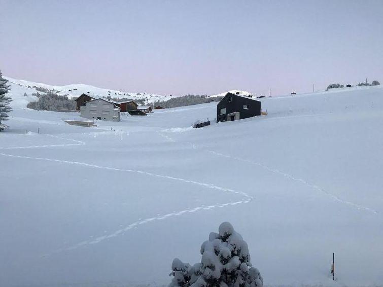 Ferielejlighed Signina Brun tæt på skiområdet og til mountainbike