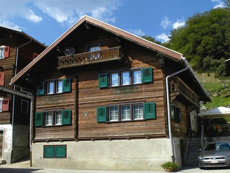 Apartamento de vacaciones Ferienhaus Rueun con balcón y tv