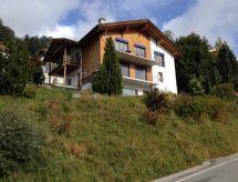 Ferienwohnung Principala 5 Zeller Andiast med parkering og til bjergvandring