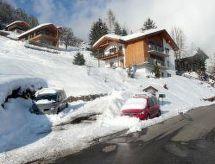 Ferienwohnung Principala 5 Zeller Andiast mit Balkon und Skigebiet in der nähe