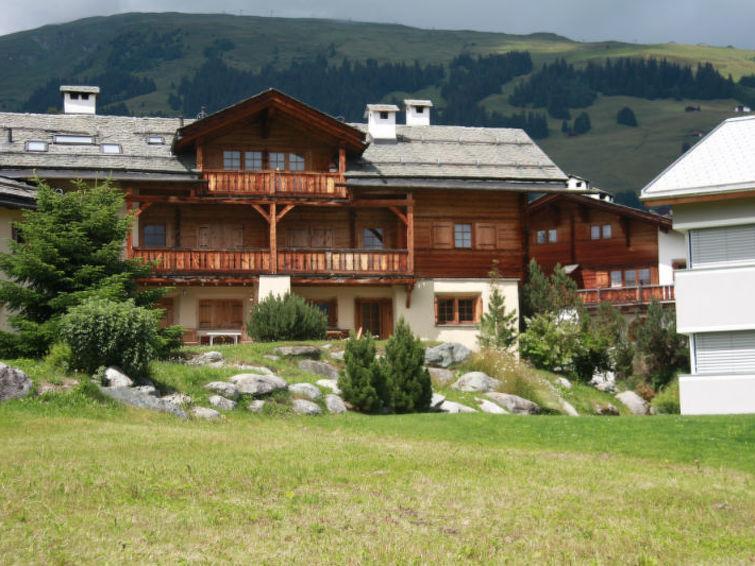 Apartamento de vacaciones Ferienwohnung Casa Muladiras Richter Brigels con internet y para ciclismo de montaña