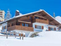 Breil - Apartamenty Ferienwohnung Casa Panorama Camartin Brigels