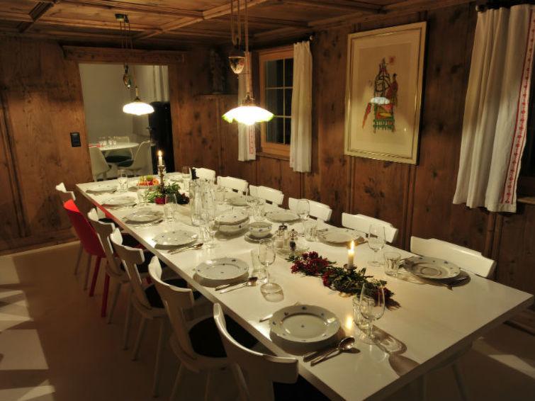 Ferieleilighet Ferienhaus Casa Mulinera Cathomas Brigels med skiområde i nærheten og internett