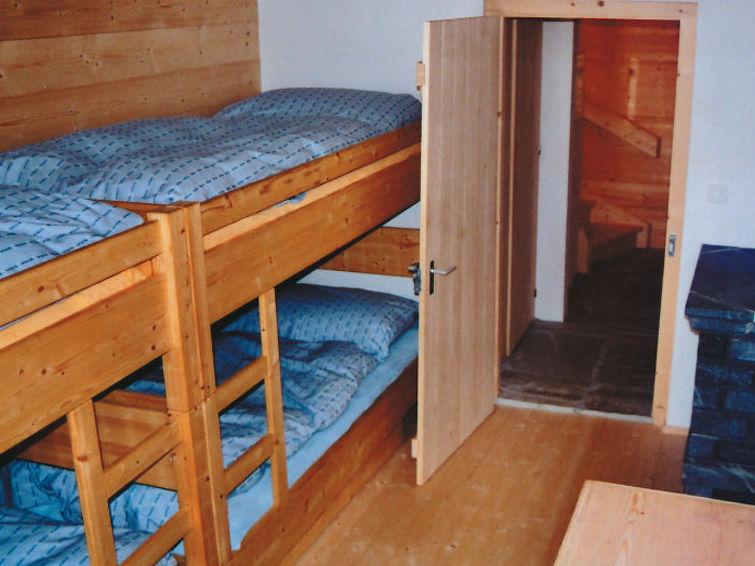 Apartamento de vacaciones Berghaus Sper Caplutta para el senderismo y con balcón