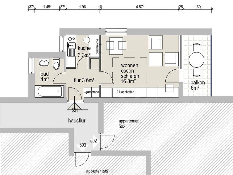 Guardaval (Utoring) Apartment in Davos