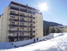 Appartement Allod-Park, Davos, Winter