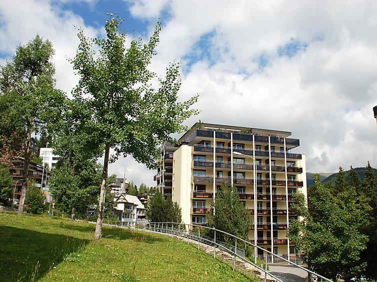 Ferielejlighed Allod-Park til bjergvandring og tæt på skiområdet