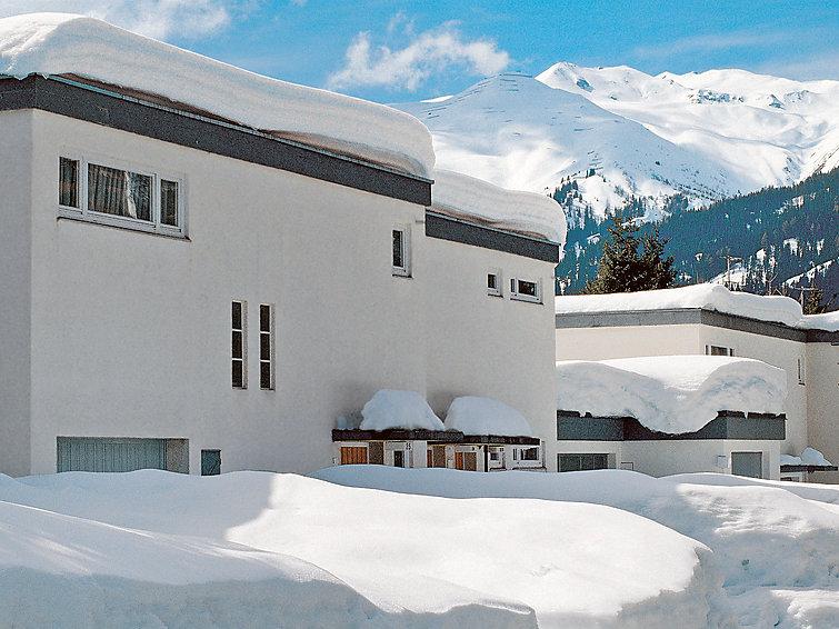 Ferie hjem Solaria Privates Haus mit 3 Schlafzimmer til mountainbike og med balkon