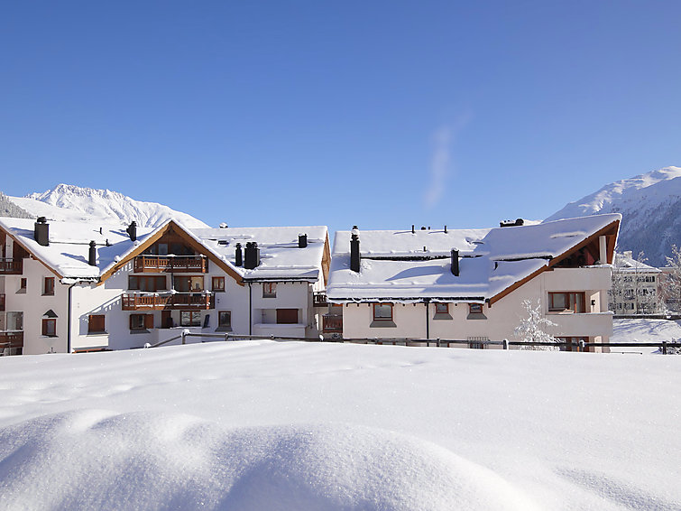 Chesa Fuoll `Alva C8 Apartment in St Moritz