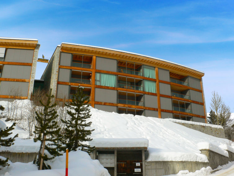 Ferielejlighed Residenz Cresta Kulm B26 med elevator og dvd-afspiller