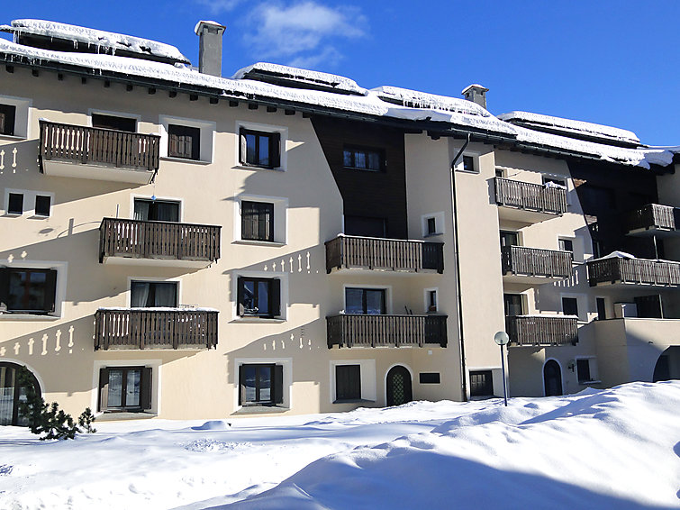 Apt. 12 Apartment in Silvaplana-Surlej