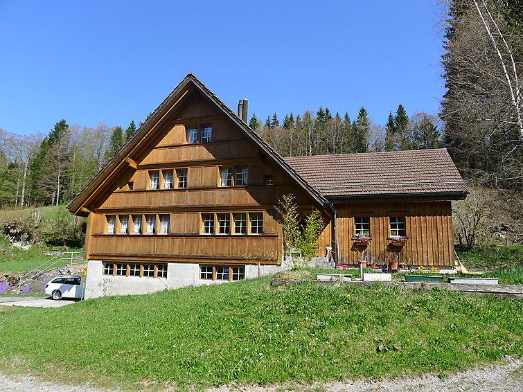Ferielejlighed Waldheim-Baschloch til mountainbike og med wlan
