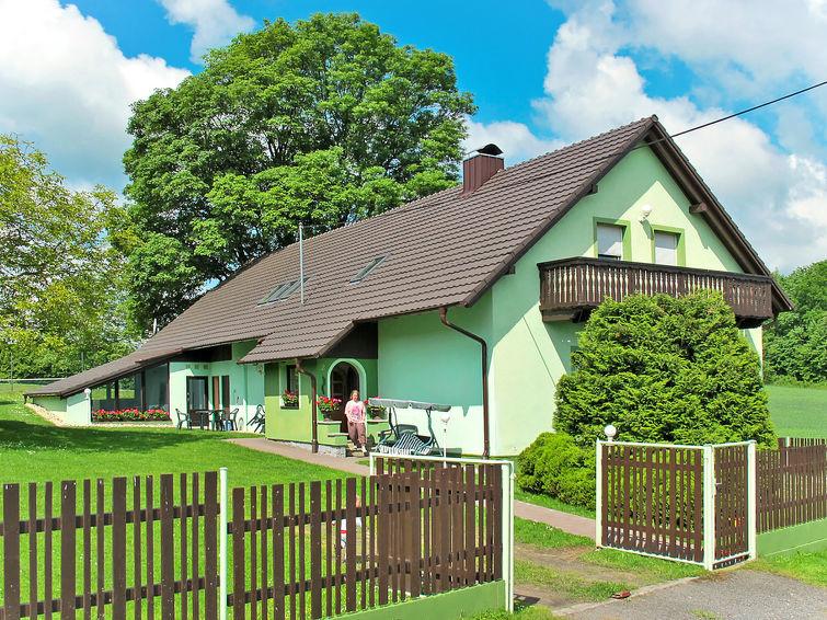 met je hond naar dit vakantiehuis in Hurka u Nemcice