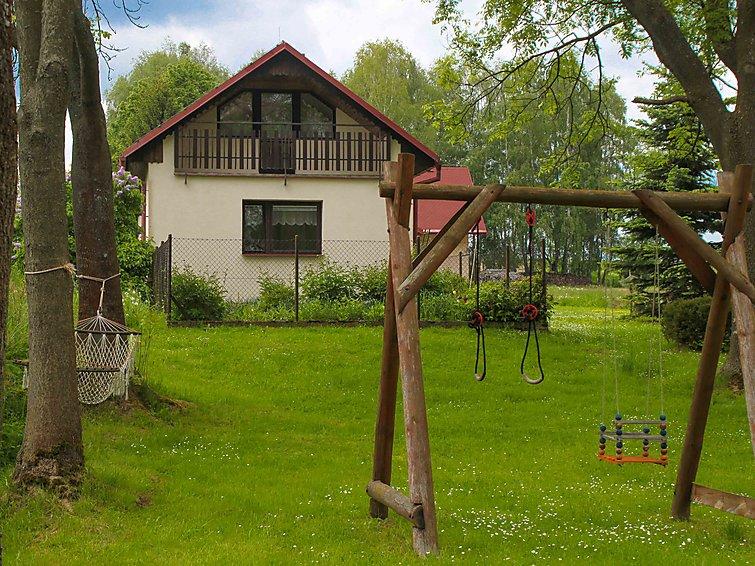 Ferie hjem Strmilov med mikrobølgeovn og barneseng