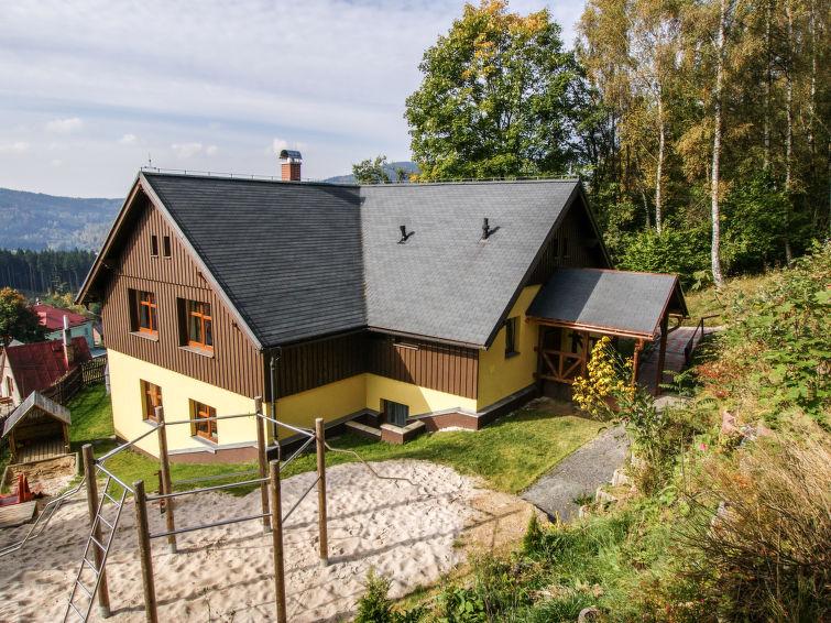 met je hond naar dit vakantiehuis in Albrechtice v Jizerskych horach