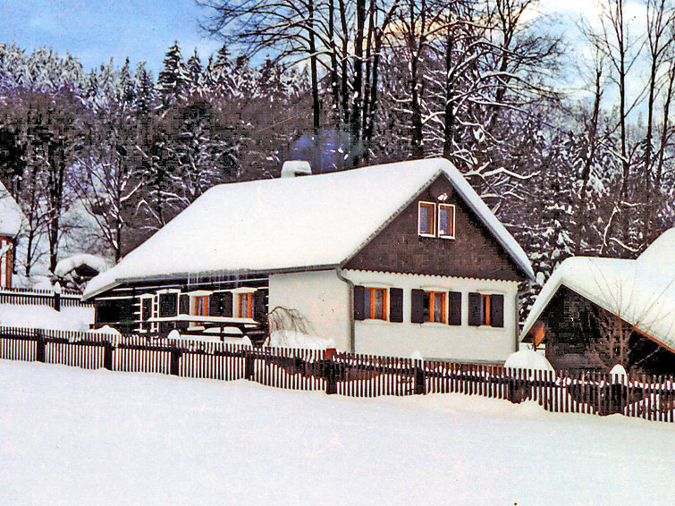 Ferie hjem Polevsko med ovn og til mountainbike