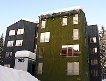 Harrachov balkonlu ve dağ yürüyüşü için