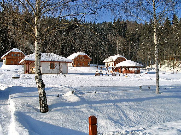 Ferie hjem Motylek til nordisk vandring og med legeplads