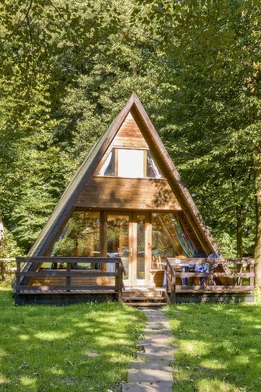 Ferie hjem Geesthof til nordisk vandring og med barneseng