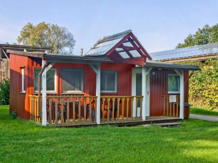 Casa de vacaciones Geesthof con permiso de mascotas y sauna