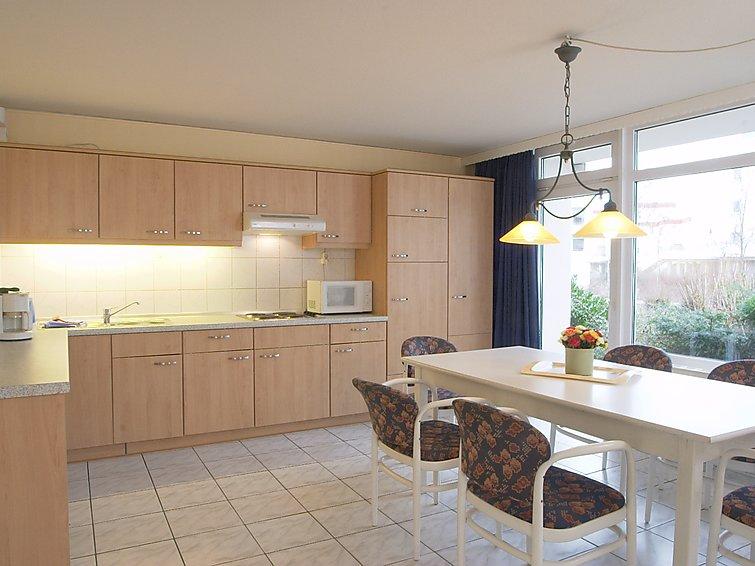 Ferielejlighed Gartenappartement 80 m2 med vaskemaskine og pool til børn