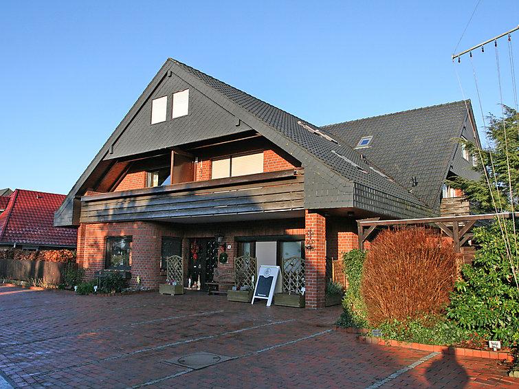 Ferielejlighed Haus Windrose med terrasse og mikrobølgeovn