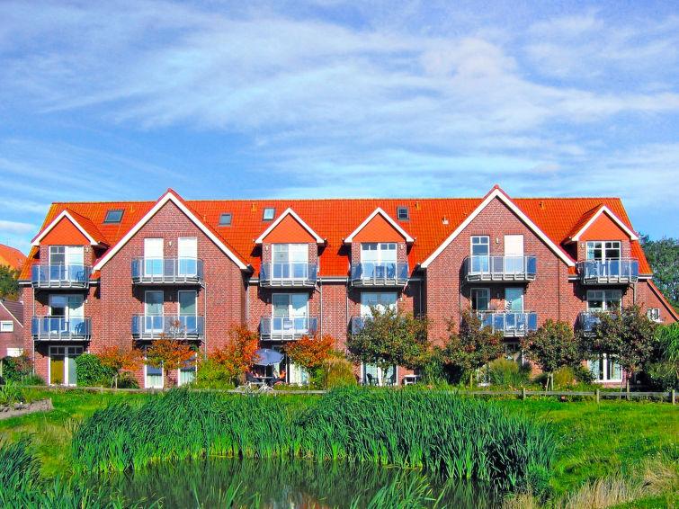Ferielejlighed Frisiastrasse til golf og sletter vandreture