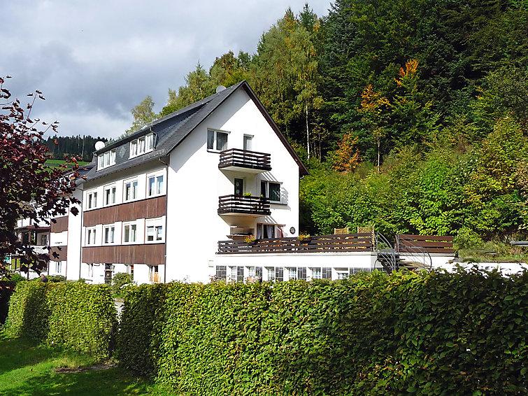 Zonnig appartement (6p) Der Kleine Dachs met wifi en rokersvrij in Sauerland (I-500)