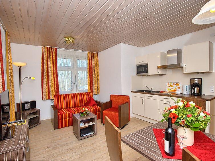 Vakantie in vakantie appartement (4p) in vakantiehuis met sauna en zwembad in Bad Bellingen, Duitsland (I-147)