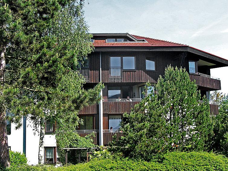 Vakantie appartement geschikt voor 2 personen vlakbij de Bodensee. Op vakantiepark Immenstaad (I-161)