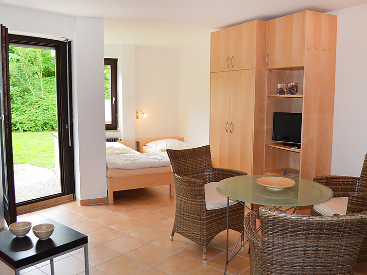 Holiday apartment suitable for 2 persons nearby the Bodensee. At holidaypark Immenstaad (I-161)