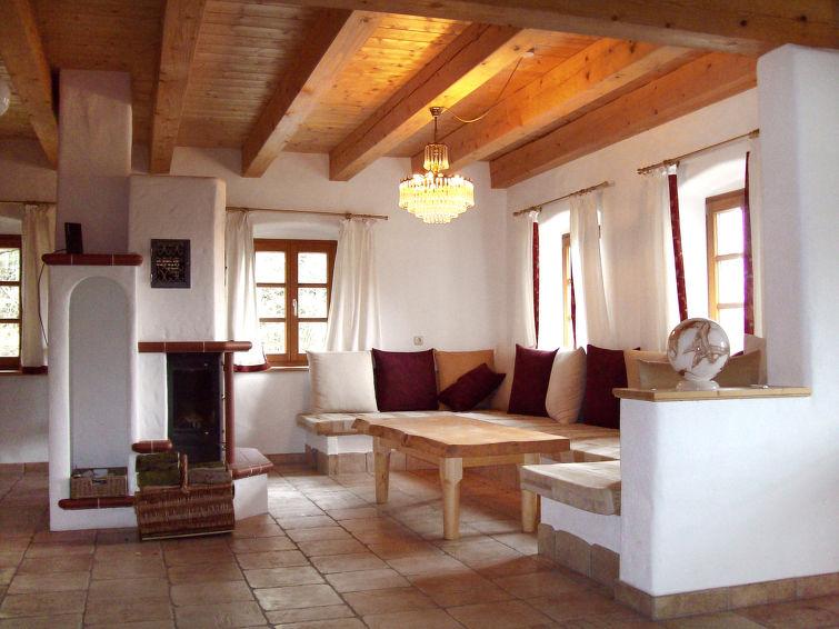 Vrijstaand Landhuis Waldhaus (6p) met eigen bos en vijver in Beieren, Duitsland (I-182)
