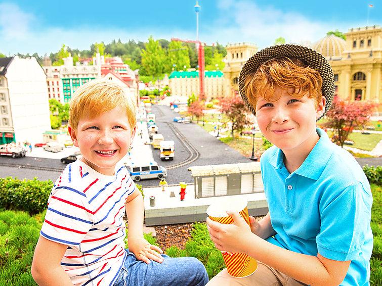 Bungalow op vakantiedorp Legoland. Geschikt voor familievakanties (4p) (I-188)