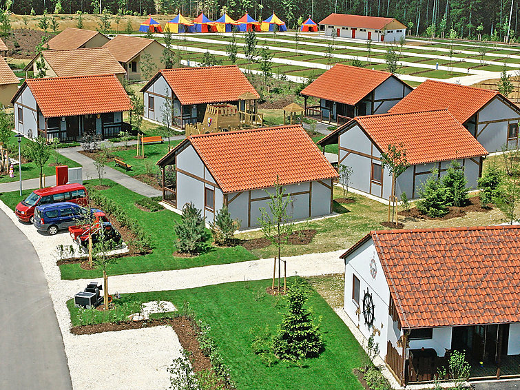 Bungalow at holiday village Legoland. Suited for familyholidays (4p) (I-188)