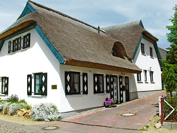 Vakantiehuis Boddenstrasse (3p), fietsen en zwemmen aan de kust van Duitsland (I-202)