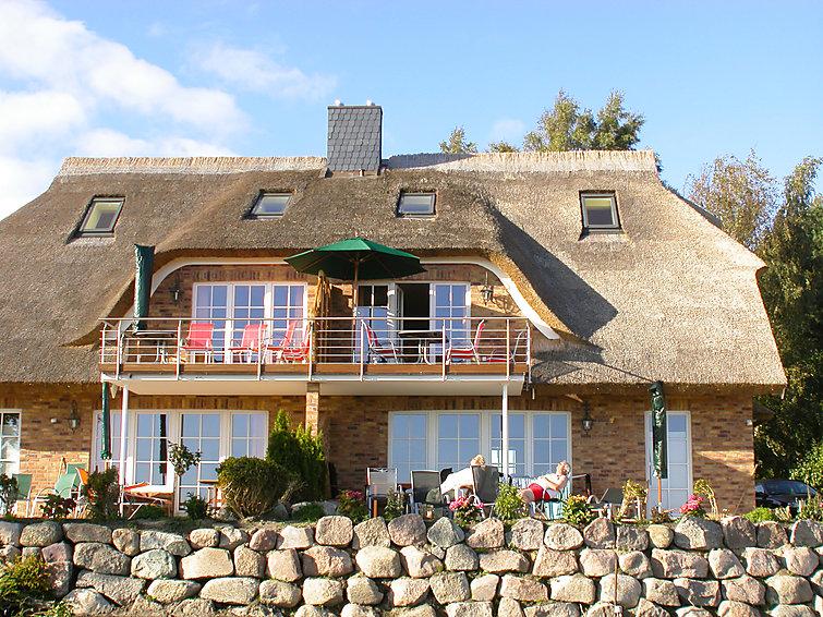 Ruim Appartement Sonnenkliff (6p) op 500 m van het strand in Rugen Duitsland (I-216)