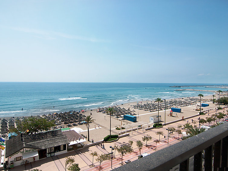 Tatil Daire Apartamentos Lubina balkonlu ve Mikrodalga ile