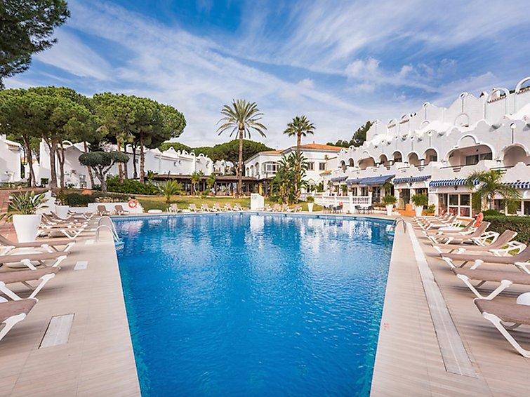 Ferielejlighed La Reserva de Marbella med indendørs pool og mikrobølgeovn