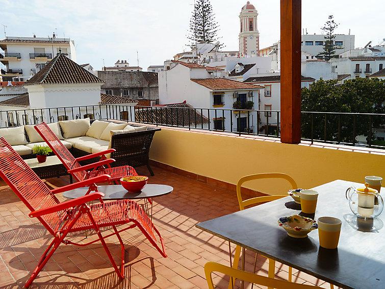 Plaza de las Flores in Estepona - Costa del Sol, Spanje foto 907428