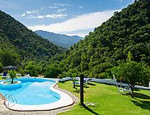 Casa El Bosque (Huertezuelo) con terrazza und tv