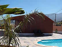 La Molineta med mikrobølgeovn og terrasse