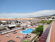 Ferienanlage Los Cristianos med terrasse og rygning forbud