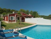 Cala Galdana - Ferienhaus Villas Galdana Palms V3D AC 02