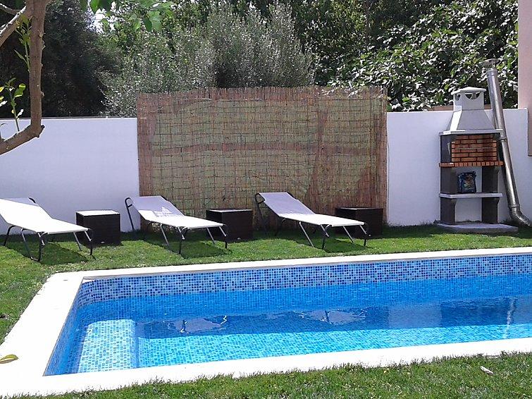 Tatil Evi Casa Juan ile Veranda  ve Çamaşır makinesi ile