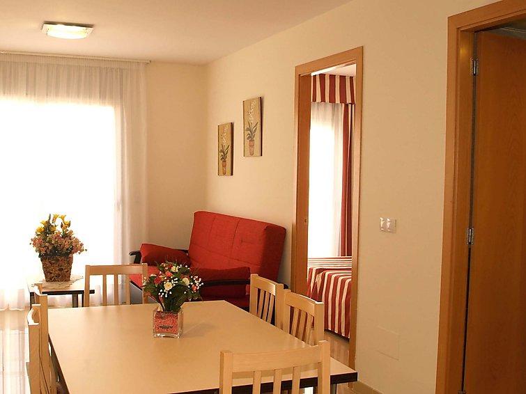 Apartamento de vacaciones Sant Josep con lavadora y internet