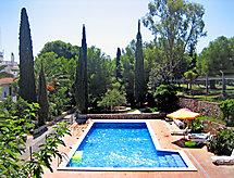 Masia Torrents con piscina y chimenea